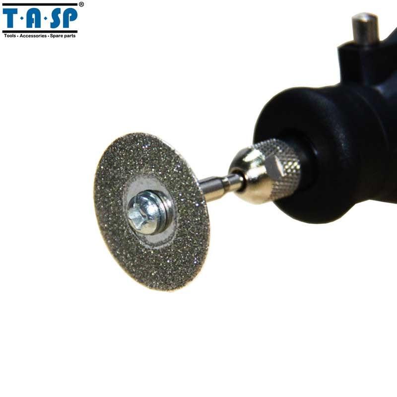 TASP 10pz 20mm Disco diamantato per dischi da taglio Set di ruote - Utensili abrasivi - Fotografia 5