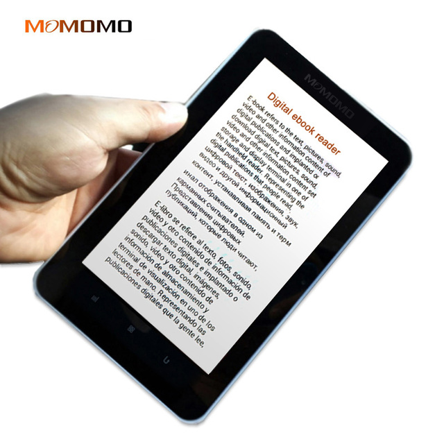Momomo ebook reader mit einbauschlitz Erweiterte 7 zoll Touchscreen digitale E-buch + recording + Video + MP3 musik Wifi player #5