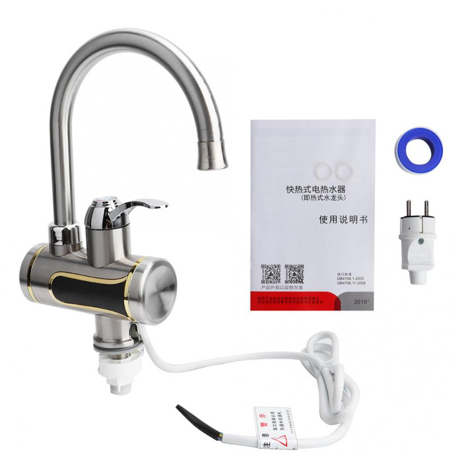 Electric Kitchen Water Heater Tap 3000
