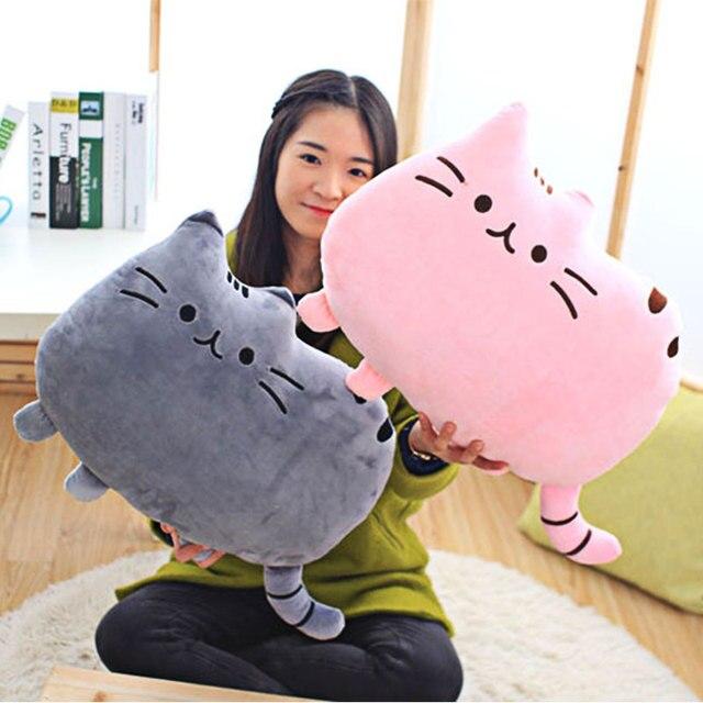 1pc Cushion Cute Cat Baby Decorative Cushion for Sofa Chair Kids Room Decor Soft Throw Pillows Car Back Cushions Dropshipping