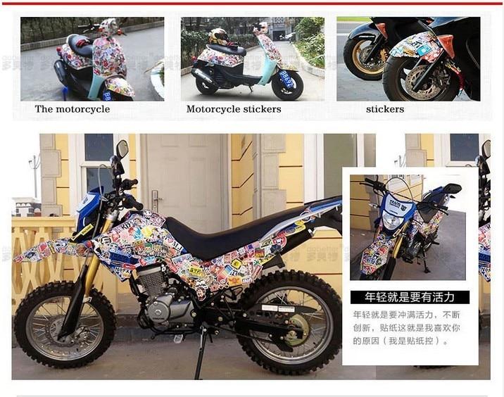Pc Design Waterproof Car Body Film Custom Sticker Doodle - Custom motorcycle stickers