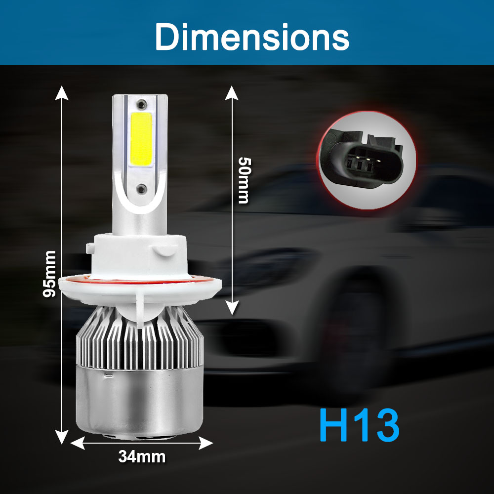 HTB1S8U5s JYBeNjy1zeq6yhzVXa9 CROSSFOX Auto Bulbs LED H7 H4 H11 H1 H3 H13 880 9004 9005 9006 9007 9003 HB1 HB2 HB3 HB4 H27 LED Car Headlights