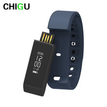 CHIGUi5plus Smart Bracelet Activity Tracker Wristband Pedometer Sleep Fitness Monitor Bluetooth Watch Smart Band for Android iOS