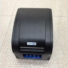 80 мм Термальность штрих-кода, наклейки этикеток Принтер xprinter 360B USB порт самоклеящиеся этикетки печатная машина