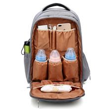 Duża pojemność plecak dla mamy jendolity kolor wodoodporny pieluszka dla niemowląt opieki torba do wózka mama noworodka opieki wielofunkcyjna torebka MBG0250 tanie tanio Torby na pieluchy zipper (30 cm Max Długość 50 cm) 46cm 30cm 22cm GROWCRADLE Poliester Stałe 1 25kg