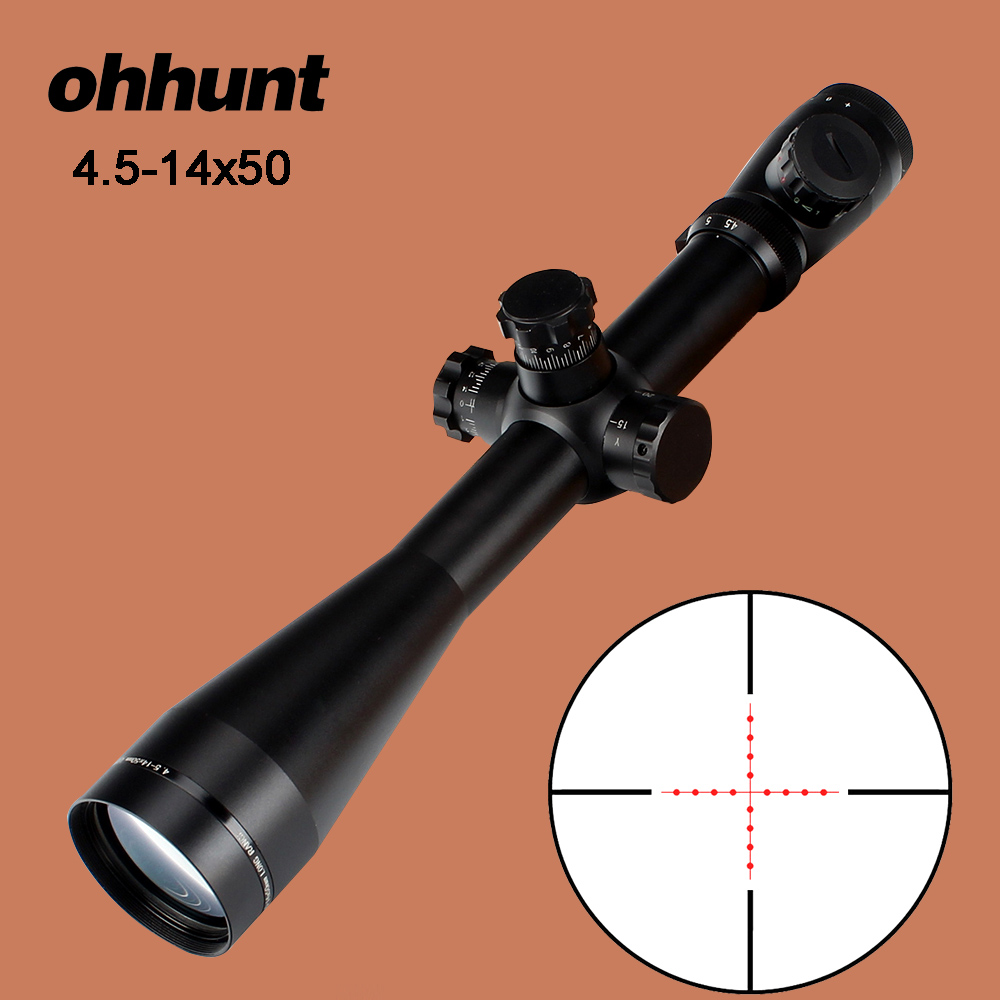 Ohhunt hunting optical mark 4 5 14x50 rifle scope m1 for Schreibtisch 1 50 m