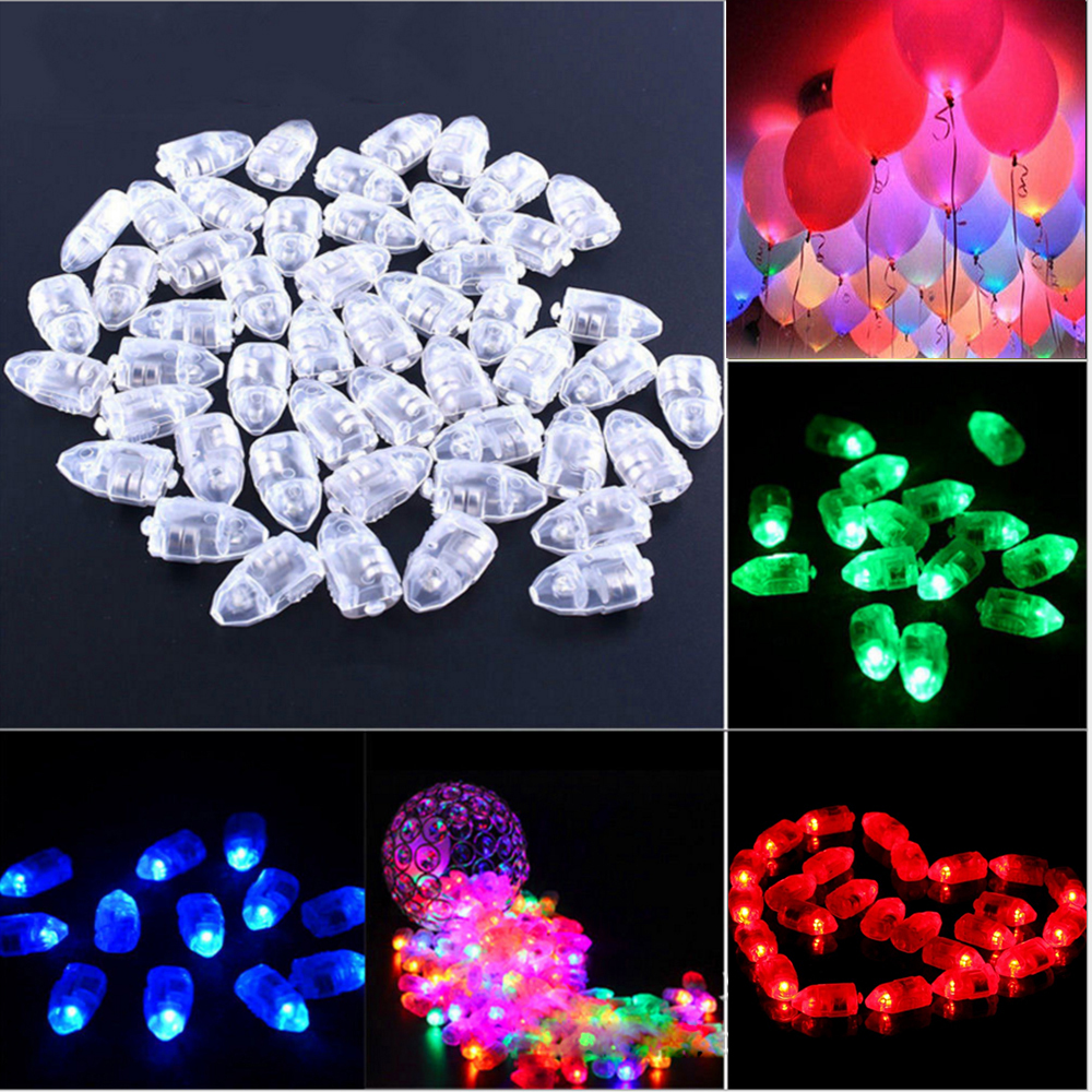 10Pcs Mini Led Balloon Light High Brightness Glow Flash Balloon Lantern Lamp Birthday Wedding Party Christmas Decoration