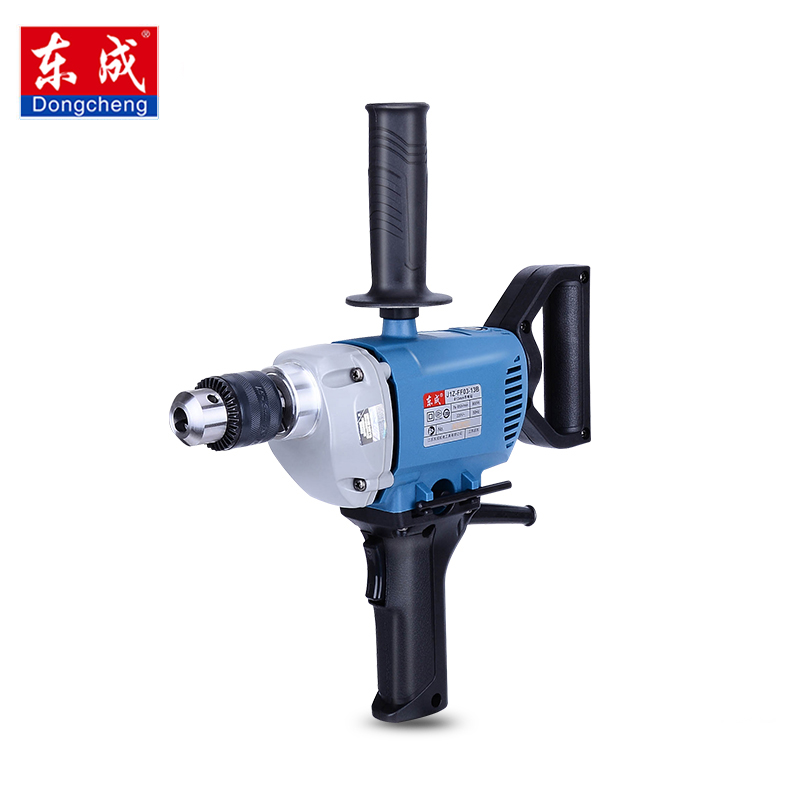 Dongcheng 220V 1010W Electric Impact Drill darbeli matkap Power Drill Stirring / Drilling 360 Degree Rotation Power Tools цена