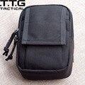 """Cordura Molle Nylon Militar Cintura Packs EDC pacote de Cintura Casuais Sacos para 5 """"Telefone Ranger Verde Coyote Brown"""