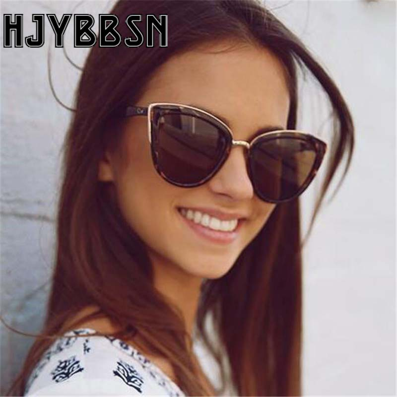 HJYBBSN Goggle Sunglasses Lunette Frame Sunshade Classic Soleil Colored Casual Fashion