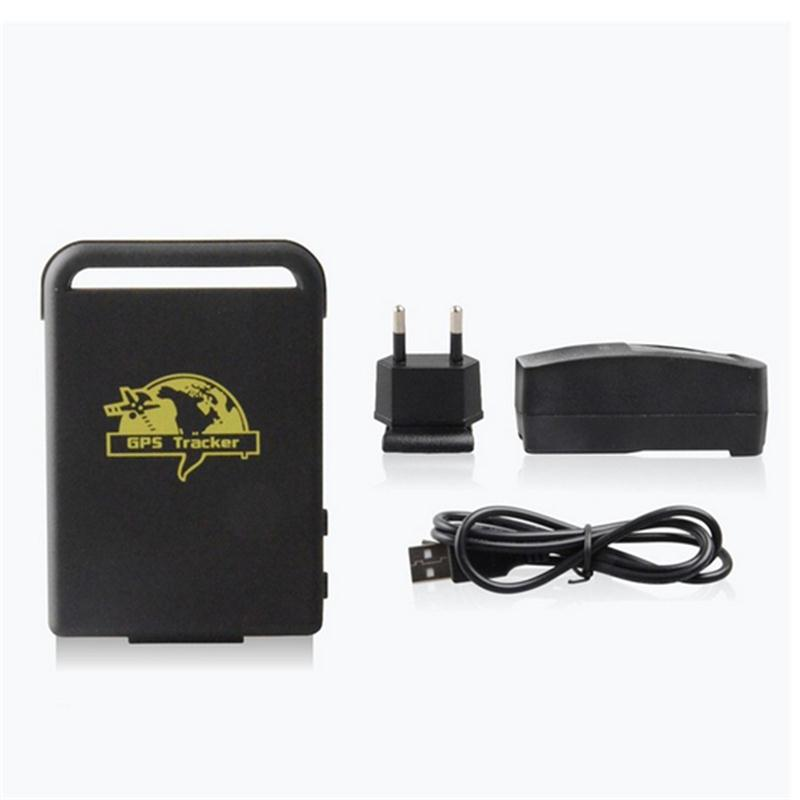 Original XEXUN TK102 2 mini gps locator car vehicle gps tracker localizador gps auto free Android APP software use