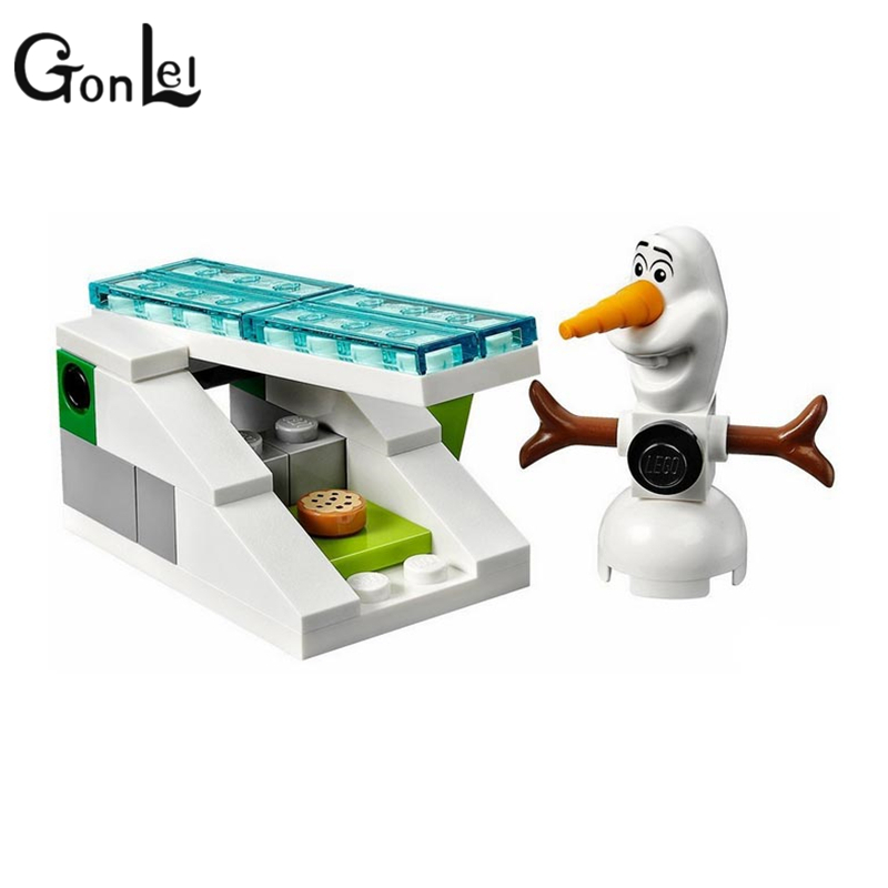 GonLeI Girls 41062 Elsa's Ice Castle Building Blocks Princess Anna Olaf Gifts Toys Compatible Princess-in Blocks from Toys & Hobbies on Aliexpress.com ...