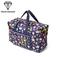 AOU Fashion Men S Travel Bags Large Capacity Folding Travel Duffle Women Oxford Luggage Travel Bag
