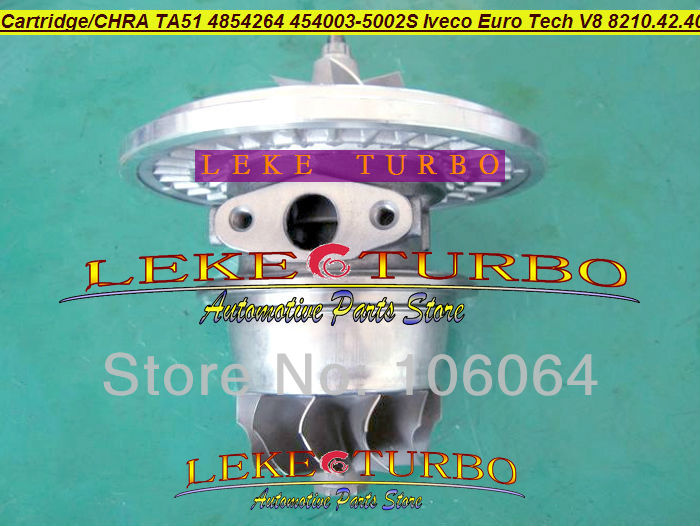 Turbo Cartridge CHRA Core TA5126 4854264 454003-0002 454003-5002S 454003 Turbocharger For IVECO Euro Tech V8 8210.42.400 17.2L german truks iveco stralis промтоварный