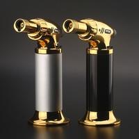 Наружный фонарь для барбекю турбо сигарная жидкость для зажигалки пистолет струйный бутан бумажный жгут для зажигания трубки для кухни 1300 C...