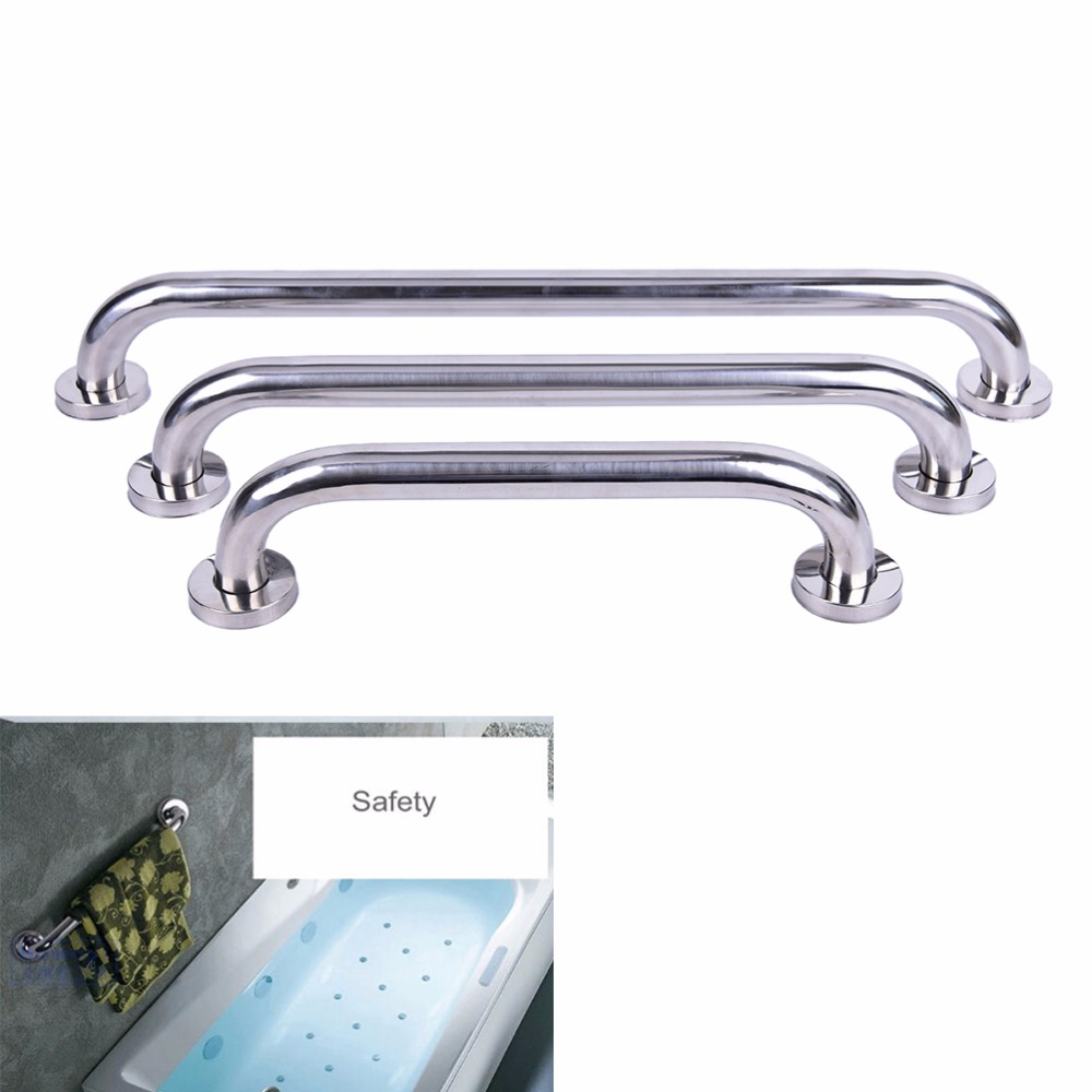1PCS Bathroom Home Assist  Grab Bar Safety Helping Handle Bars 12″ 15″ 20″ Bathroom Mobility Support Hardware Accessory