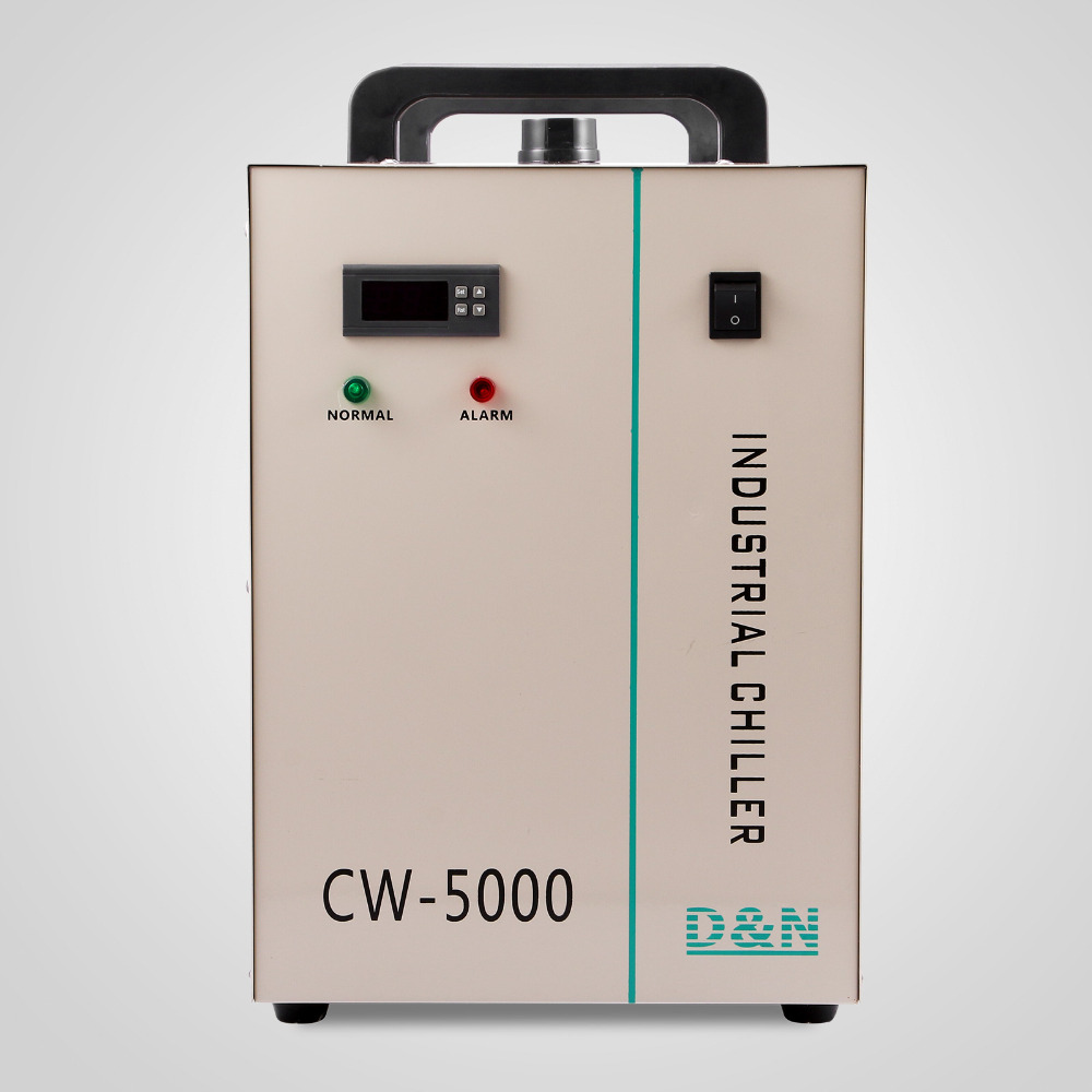 Russia Market Indrustry CW5000 Water Chiller Cooling For 100W Or 150W CO2 Laser Tube And Laser Machine
