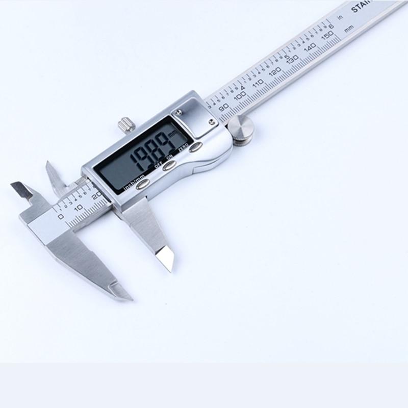 Calibro a corsoio elettronico digitale in metallo 200mm 8