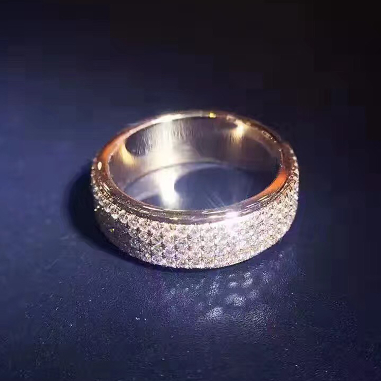 LASAMERO 1.1CT Round Cut Certified Natural Diamond Ring Accents 18k Rose Gold Art Deco Engagement Wedding Ring цена 2017