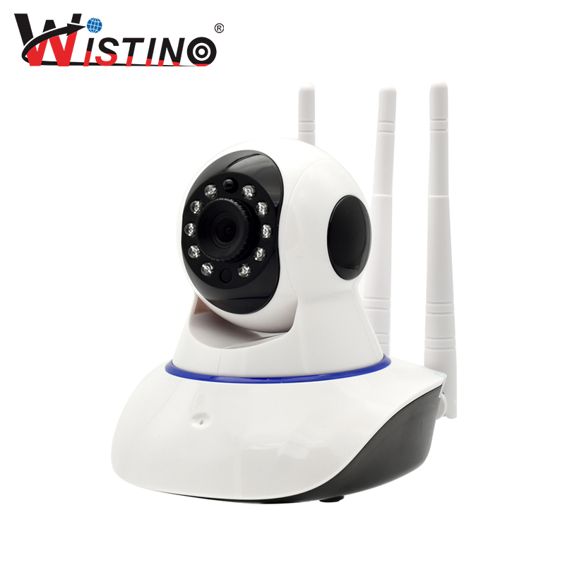 Wistino CCTV Wireless Baby Monitor Wifi IP Camera 720P Indoor Surveillance System Wi-fi PTZ Smart Home Security Alarm Camera wistino cctv camera metal housing outdoor use waterproof bullet casing for ip camera hot sale white color cover case