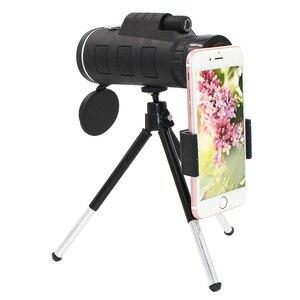 Image 2 - 40X Zoom Kamera Monokulare Handy linsen Zoom Objektiv für Smartphone Zoom Telefon Teleskop für Mobile