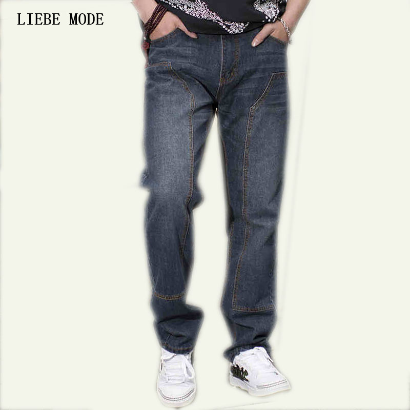 Populaire Japanese Style Plus Size Mens Straight Boot Cut Jeans Teen Boys  DT77