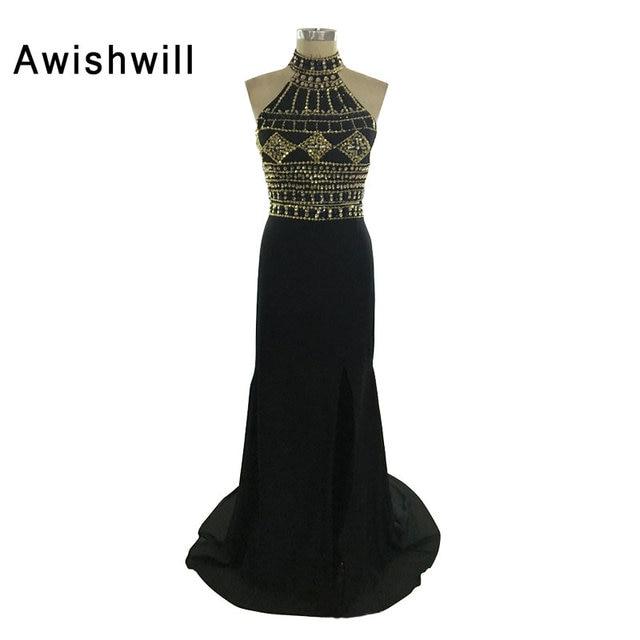Handmade Elegant Long Evening Dress