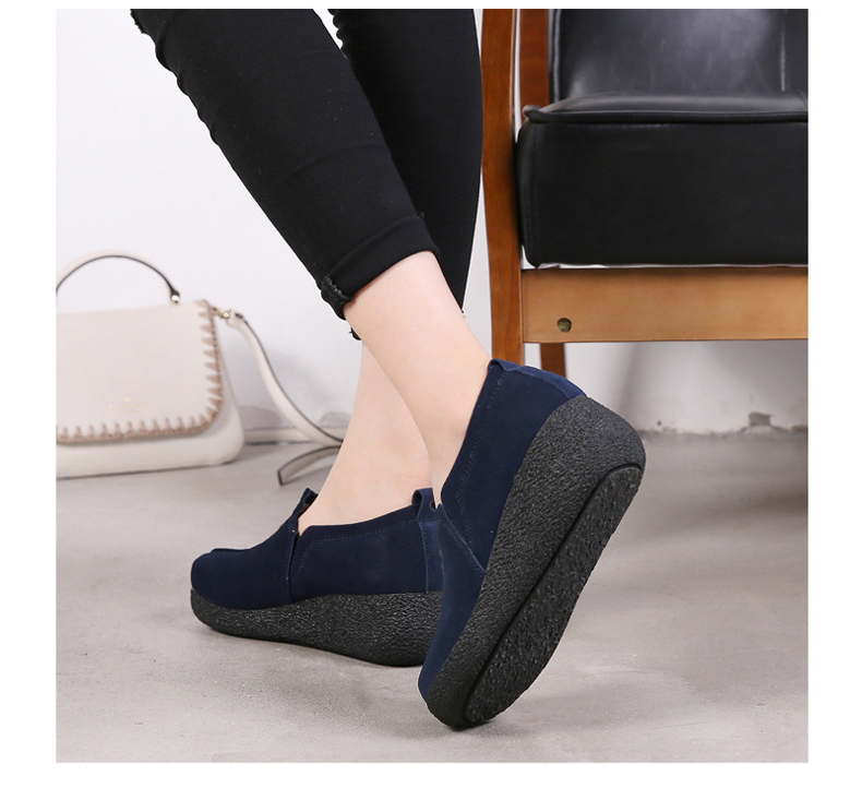 LL 3022-2019 Spring Autumn Women Wedge Shoes-19