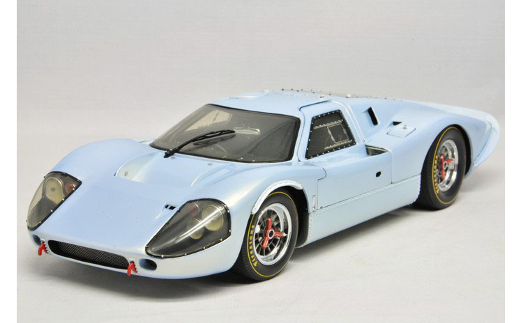 1:18 EXOTO Ford] American sold out show Ford GT40 MkIV car