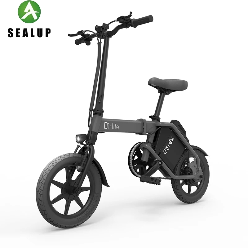 2019 X -cape X -bird D1 Lite 120km-200km Foldable Electric Bike 14 Inch Tires With Light Operated Switch E-bike