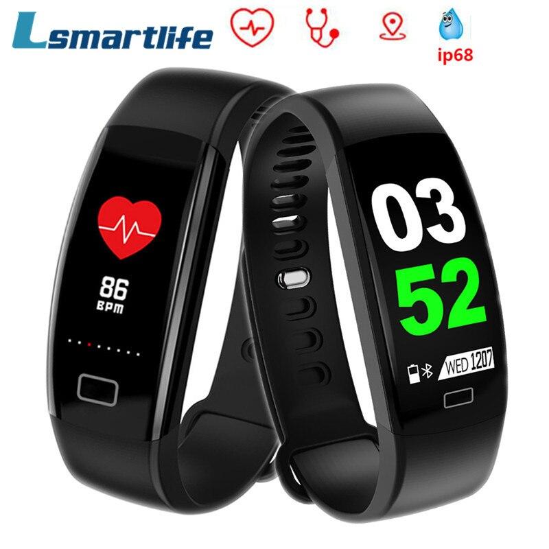 F64 HR Smart Wristband Bracelet F64HR Smartband Waterproof Sleep Monitor Fitness Bracelet Smart Watch Call Alarm For iOS Android