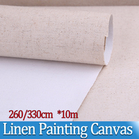 10m Super width Lines Painting Canvas Landscape Oil Painting Paint coat Paper Artist Blank Canvas Art Painting Supplies