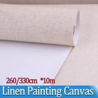 10m Super width Lines Painting Canvas Landscape Oil Painting Paint coat Paper Artist Blank Canvas Art Painting Supplies