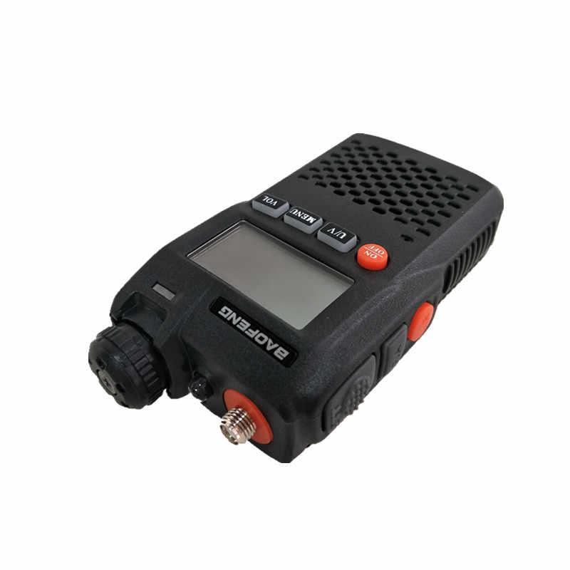 Mini Radio Radio enfant BAOFENG UV-3R talkie-walkie UHF VHF jambon CB Station Radio bidirectionnelle Woki Toki émetteur-récepteur HF Amateur 3R Telsiz
