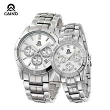 CAINUOS (CAINO)  New Lovers Couple Watch Romantic Expression Of Love Couples Wristwatch Quartz Watch One Pair