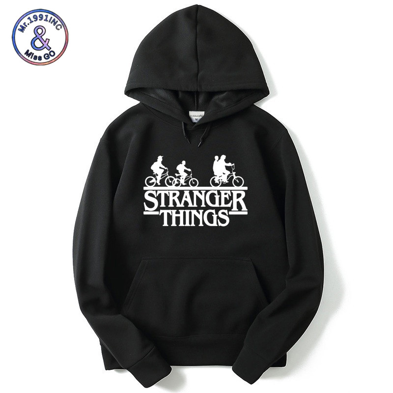 Mr.1991INC Stranger Things 2 Hip Hop Boy Hoodie Sweatshirt Men/Women Sweatshirts Oversized Hooded Autumn Winter Hoodies Pullover