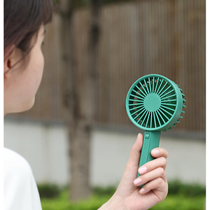 Image 5 - New Youpin VH Brand Portable Handheld Fan Low Noise With Chargable Built in Battery USB Port Design Handy Mini Fan 3 levels wind