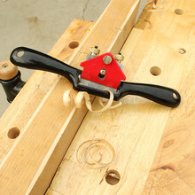 DIY 9 inch steel bird planer small iron hand planer carpenter woodworking planing tool deepth adjustable wood plane trimming
