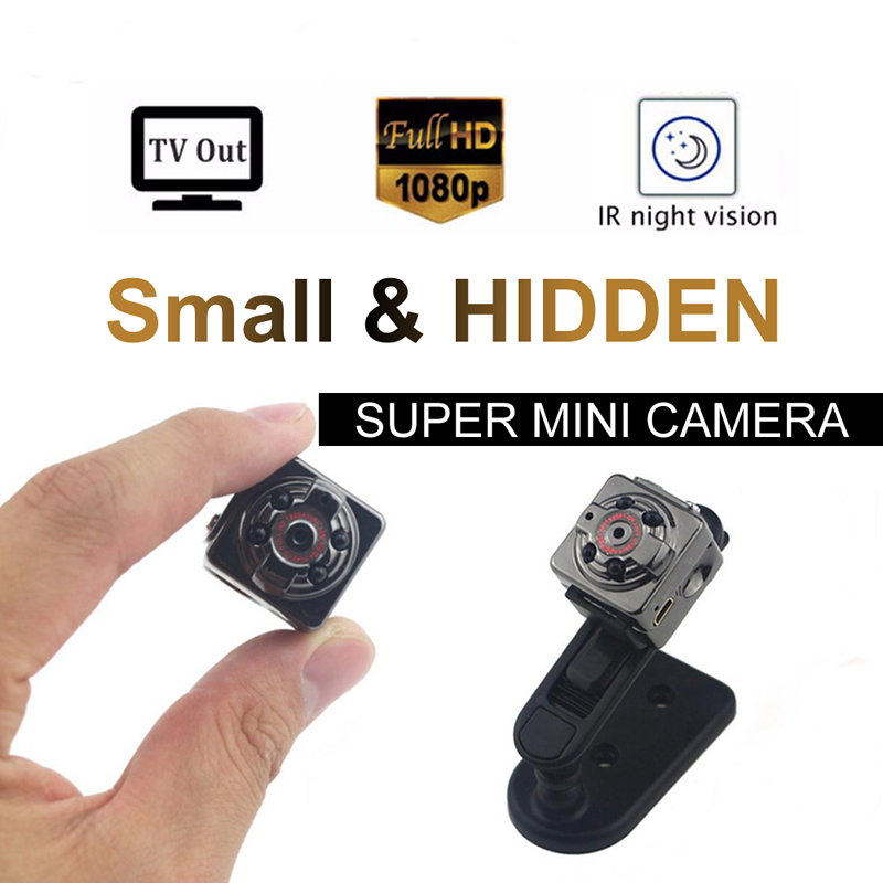 Super Invisible Full HD Camcorder Sports Mini Camera Infrared Night Vision Outside 1080P Aerial DV 720P
