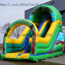 PVC Inflatable slide  commercial inflatable bouncers for kids
