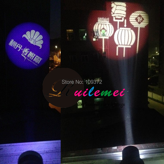 outdoor lighting effects. free shipping 30w led gobo logo image pattern projection lightings outdoor dj lighting effects