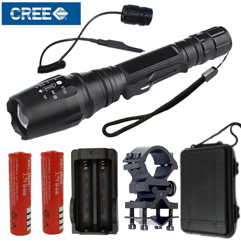 Litwod Z15 CREE XLamp XM-L U3 & T6 LED tactical Flashlight Torch Hard Light Zoom hunting light power by 18650 battery 8200 lumens flashlight 5 mode cree xm l t6 led flashlight zoomable focus torch by 1 18650 battery or 3 aaa battery