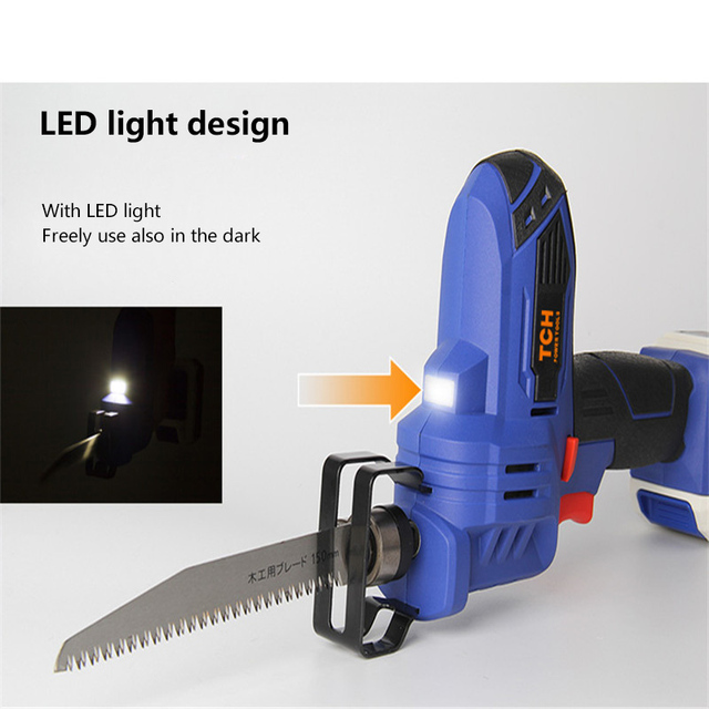 TCH Electric 16V Portable Charging Reciprocating Saw Electric Saber Saw for wood mutifunctional power tools 1