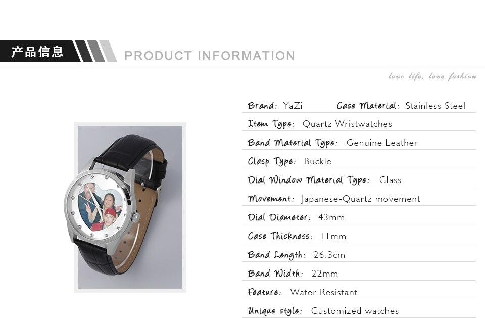 coração-em forma de caixa de aço inoxidável relógios de pulso