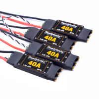 NEUE 5 V/3A 40A ESC OPTO 2-6S Bürstenlosen ESC Elektronische Geschwindigkeit Controller Für F450 450mm S500 ZD550 RC Hubschrauber Quadcopter