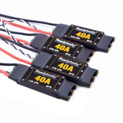 Nowy 5 V/3A 40A ESC OPTO 2 6S bezszczotkowy ESC elektroniczny regulator prędkości dla F450 450mm S500 ZD550 helikopter rc Quadcopter w Części i akcesoria od Zabawki i hobby na