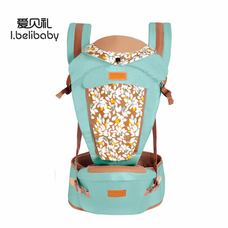 Ibelibaby Baby Carriers Adjustable Sling Wrap Portabebe Backpack Baby Carrier Outdoor Carrier Sling Print Baby Waist Carrier