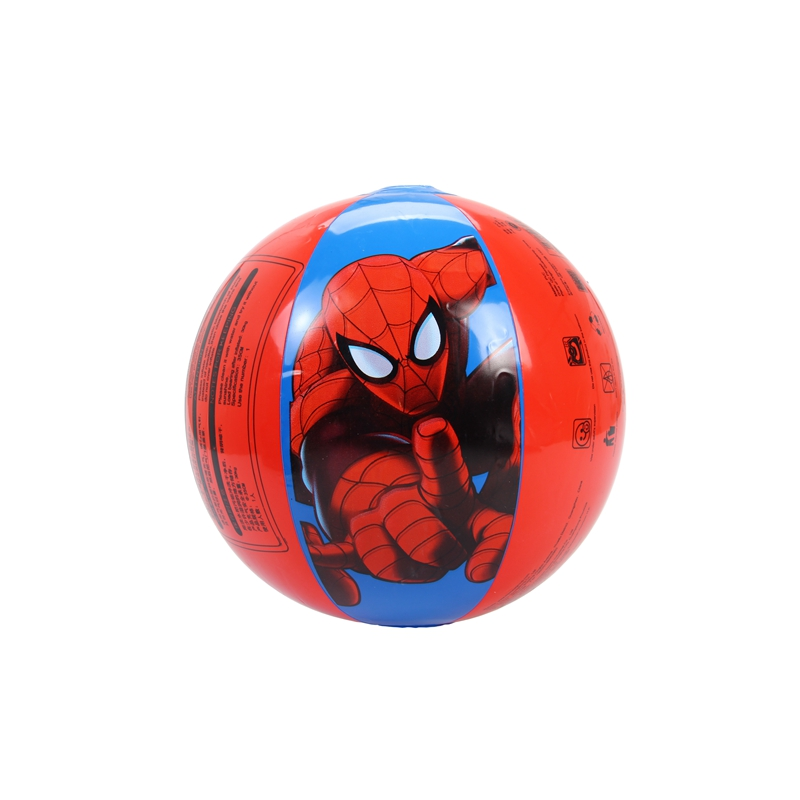 Marvel Spider-man Inflatable Beach Balloon Ball Sea Swimming Pool Water Toy Swimming ring Accessorices Beach Ball