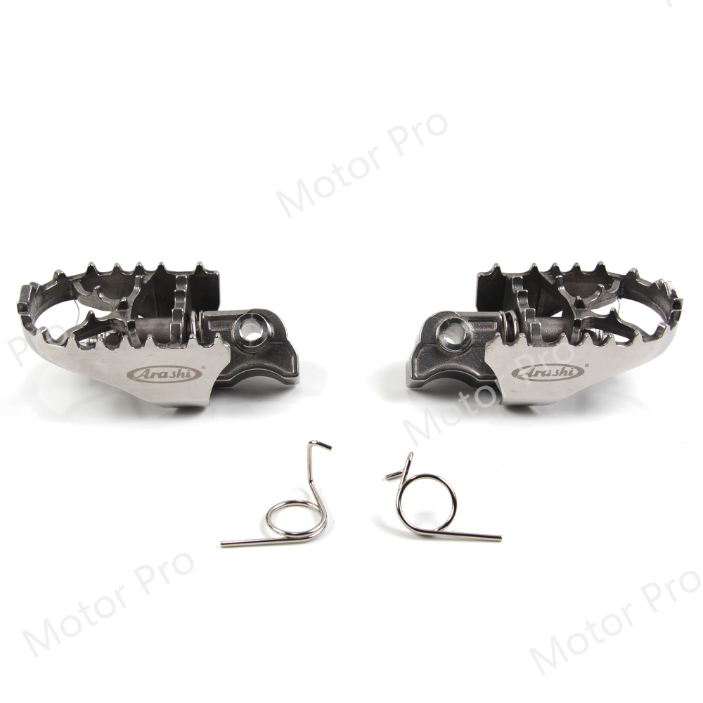 Front Footrests For Bmw R1200GS 2004 - 2018 Rider Foot Rests Pegs Pedal Motorcycle Accessories GS1200 GS 1200 2015 2016 2017Front Footrests For Bmw R1200GS 2004 - 2018 Rider Foot Rests Pegs Pedal Motorcycle Accessories GS1200 GS 1200 2015 2016 2017