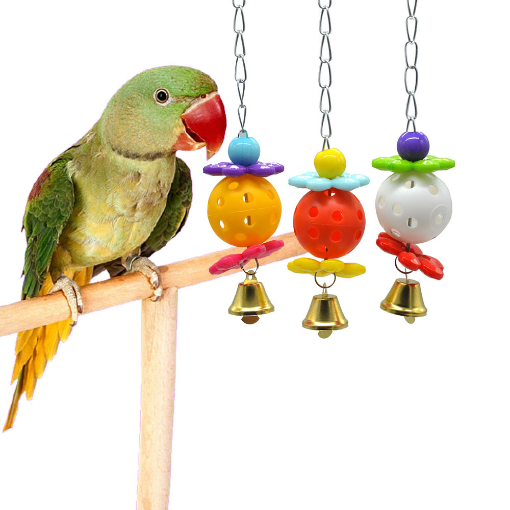 PipiFren Parrots Toys For Bird Accessories Supplies Cockatiel Perch Budgie Parakeet Cage Decoration African Grey Wellensittich
